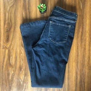NYDJ High Rise Boot Cut Dark Wash Size 10